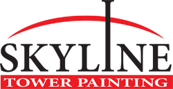 Skyline Tower Painting Logo